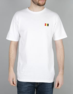 The Hundreds Flag Emblem T-Shirt - White