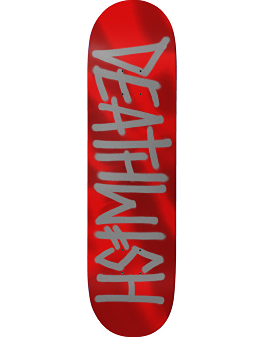 Deathwish Deathspray Red Metallic Team Deck - 8.125""