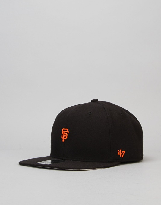 '47 Brand MLB San Francisco Giants Centrefield Snapback Cap - Black