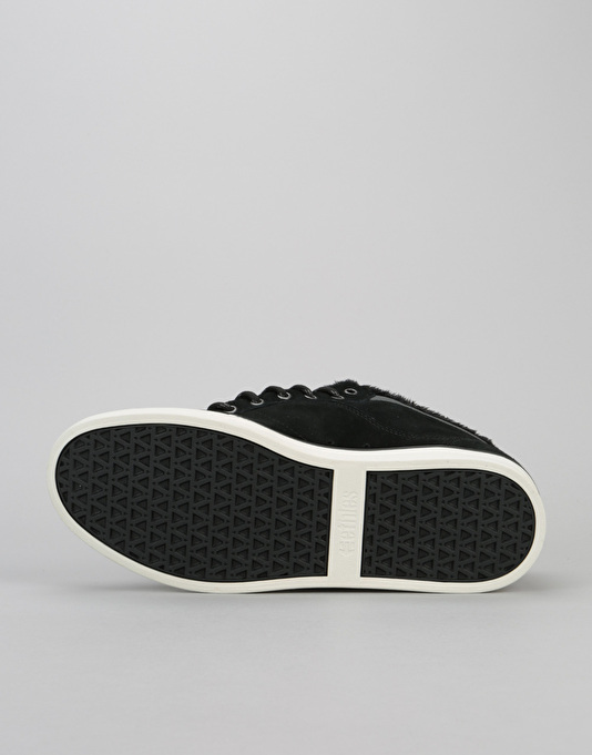 Etnies Jefferson Mid Skate Shoes - Black/Dark Grey