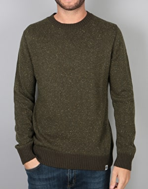 Element Kayden Knitted Sweatshirt - Moss Green