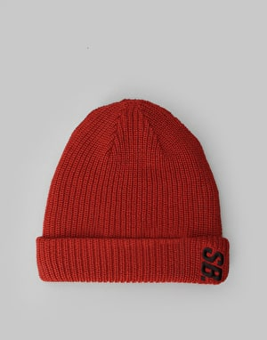 Nike SB Surplus Beanie - Dark Cayenne/Black