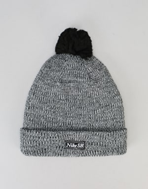 Nike SB 2-in-1 Pom Knit Beanie - Black