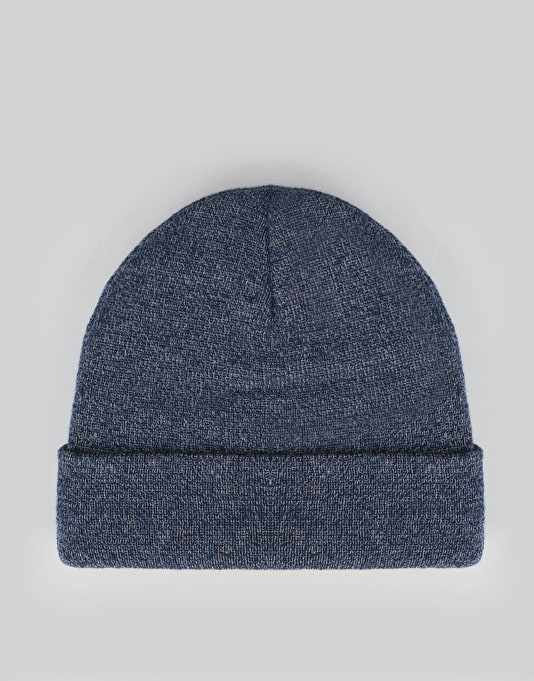 Route One NY Cuff Beanie - Heather Blue