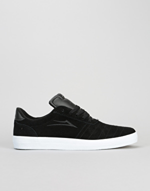Lakai Salford Skate Shoes - Black Suede