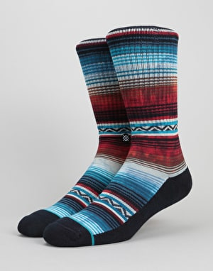 Stance Don Jose Classic Crew Socks - Red