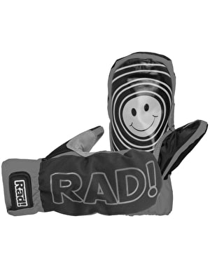 Radical Gloves The Smitten 2017 Snowboard Mitts - Athletic Grey