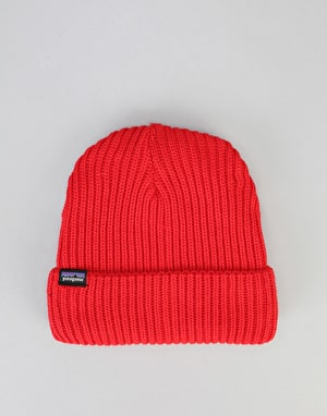 Patagonia Fishermans Rolled Beanie - French Red