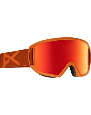 Anon Relapse 2017 Snowboard Goggles - Orange/Red Solex