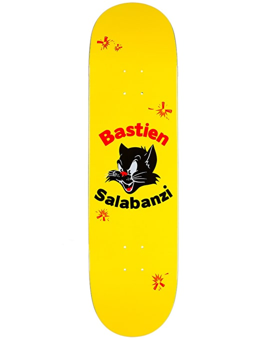 Primitive Salabanzi Black Cat Pro Deck - 8""