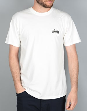 Stüssy 8 Ball Pigment Dyed T-Shirt - Natural