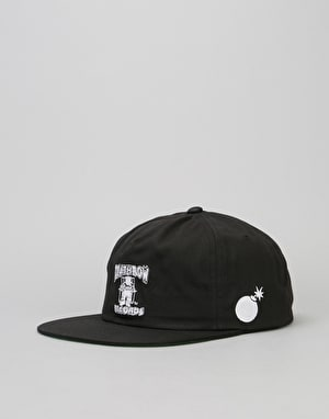 The Hundreds x Death Row Records Snapback Cap - Black