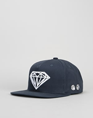 Diamond Supply Co. Brilliant Snapback Cap - Navy