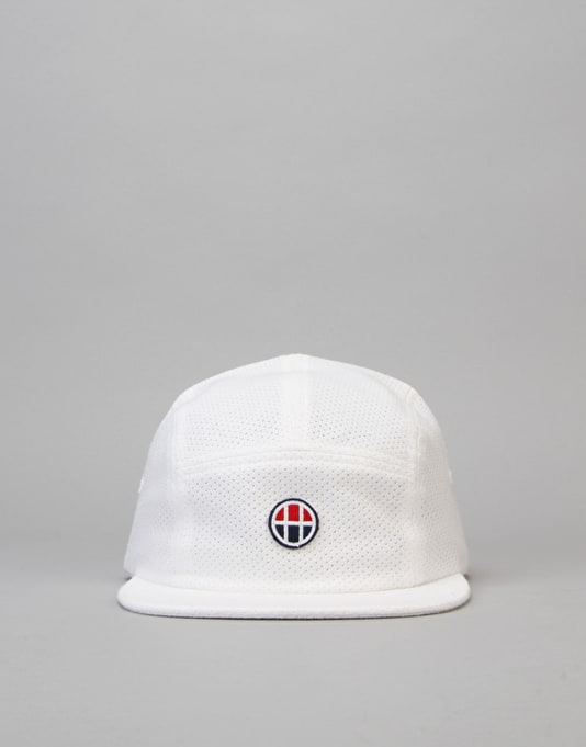 HUF Pursuit Volley 5 Panel Cap - White