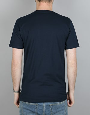 Etnies Deep Roots T-Shirt - Navy
