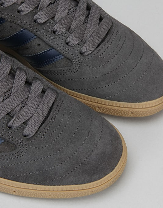 Adidas Busenitz Skate Shoes - Solid Grey/Collegiate Navy/Gum
