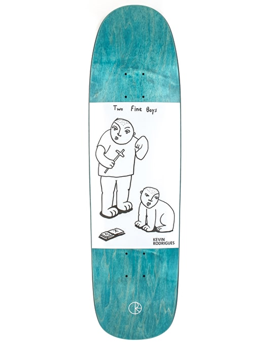 Polar Rodrigues Two Fine Boys Skateboard Deck - KEV1 Shape 8.625""