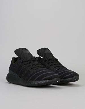 Adidas Busenitz Pure Boost Shoes - Core Black/Core Black/Black
