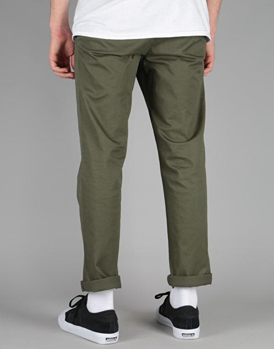 WeSC Alessandro Chinos - Forest Green