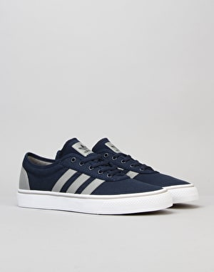 Adidas Adi-Ease Skate Shoes - Navy/Grey/White