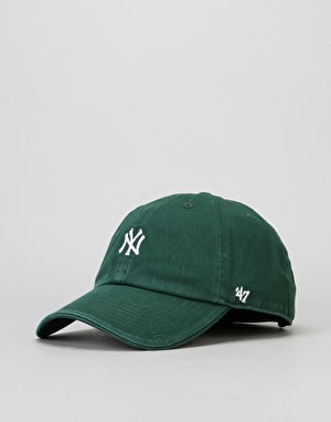 '47 Brand MLB New York Yankees Centrefield Clean Up Cap - Dark Green
