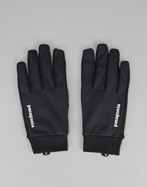 Patagonia Wind Shield Gloves - Black