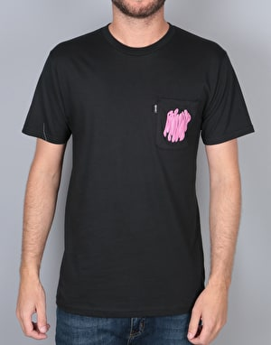 RIPNDIP Ring Around the Nermal T-Shirt - Black