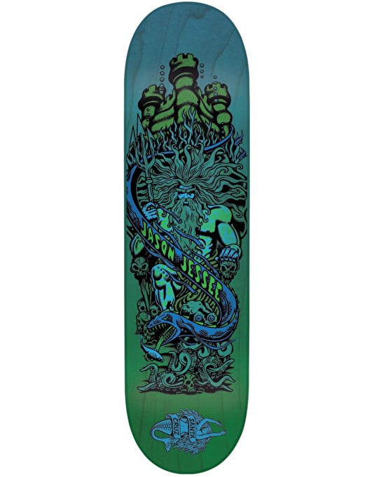Santa Cruz Jessee Neptune Pop Skateboard Deck - 8""