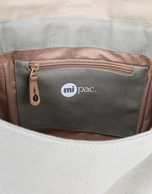 Mi-Pac Tonal Canvas Day Pack - Khaki/Sand