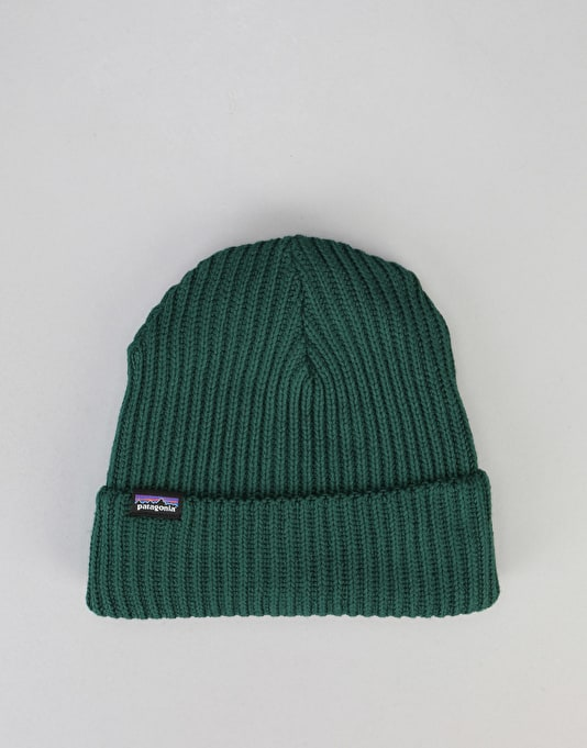 Patagonia Fishermans Rolled Beanie - Legend Green