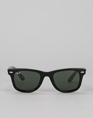 Ray-Ban Original Wayfarer Classic - Black/Green G-15 Lens RB2140