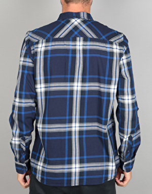 Element Buffalo L/S Shirt - Midnight Blue