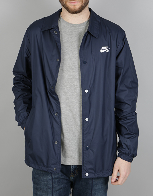 Nike SB Shield Coaches Men's Jackets Obsidian/White