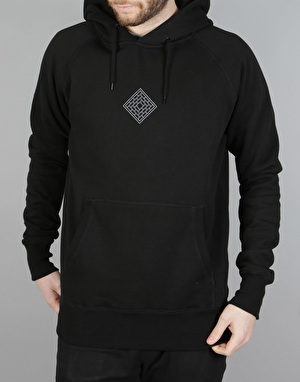 The National Skateboard Co. Palm Pullover Hoodie - Black