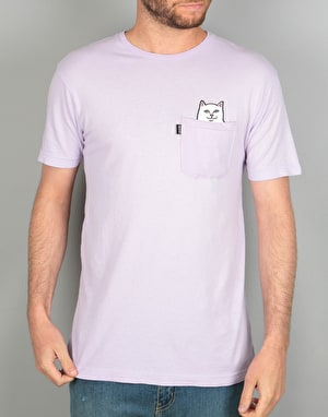 RIPNDIP Lord Nermal Pocket T-Shirt - Lavender
