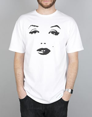 Diamond Supply Co. x Marilyn Monroe That Look T-Shirt - White