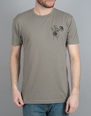 Theories New Religion T-Shirt - Warm Grey