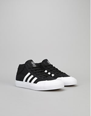Adidas Matchcourt Mid Boys Skate Shoes - Core Black