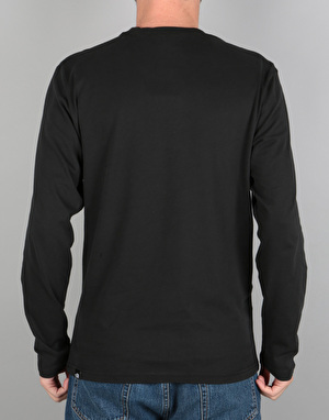 The North Face L/S Fine T-Shirt - TNF Black