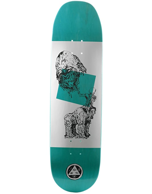 Welcome Wax Gorilla on Baculus Skateboard Deck - 8.75""
