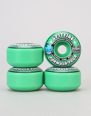 Spitfire Ice Mint Formula Four Classic 99d Team Wheel - 52mm