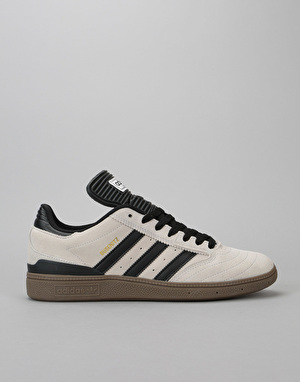 Adidas Busenitz Pro Skate Shoes - Crystal White/Core Black/Gum