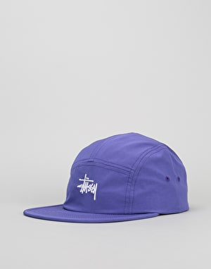 Stüssy Micro Ripstop 5 Panel Cap - Purple