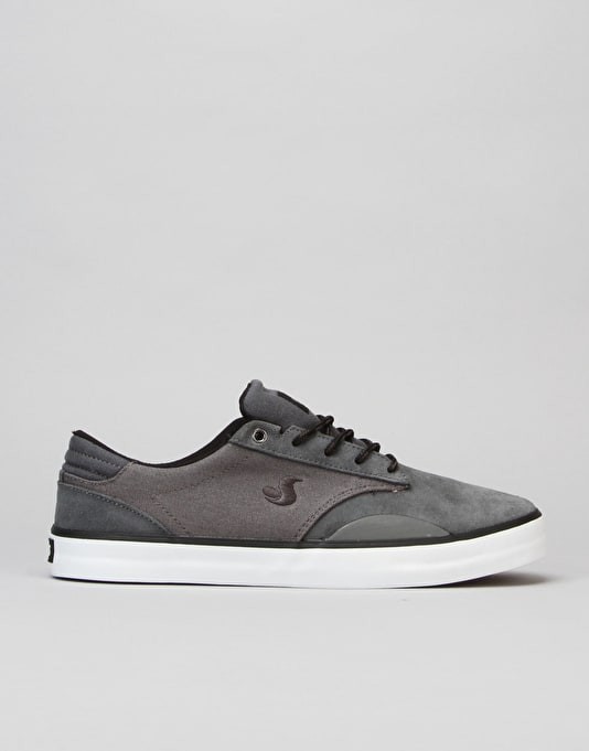DVS Daewon 14 Skate Shoes - Dark Grey Suede