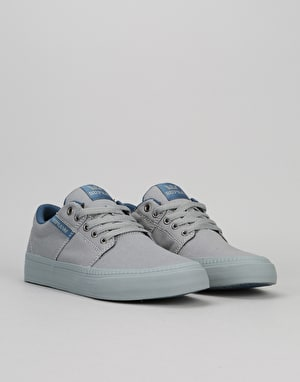 Supra Stacks Vulc II HF Skate Shoes - Grey/Blue/Grey