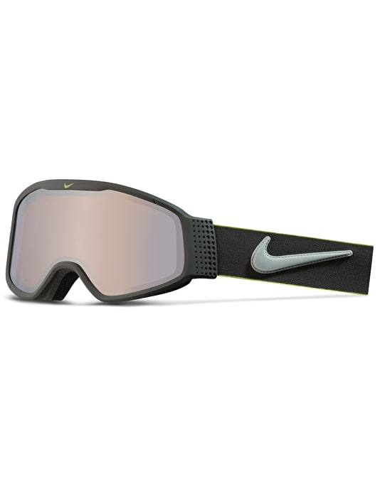 Nike Mazot 2017 Snowboard Goggles - Matte Anthracite-Wolf Gry-Cyber