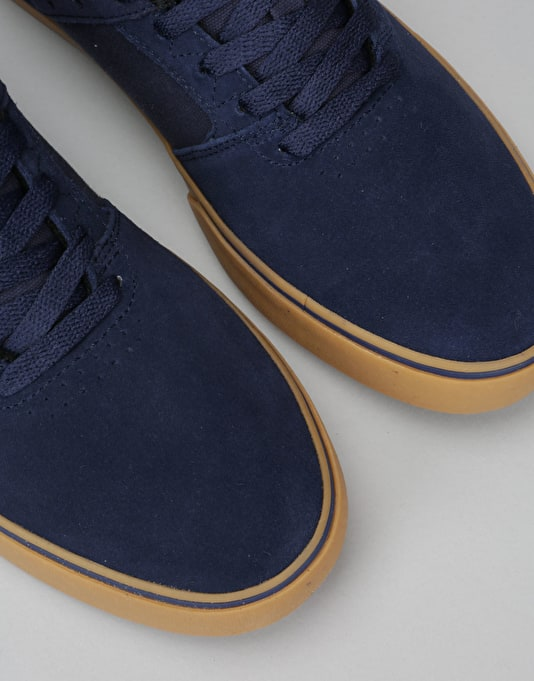 Emerica The Reynolds Low Skate Shoes - Navy/Grey/Gum