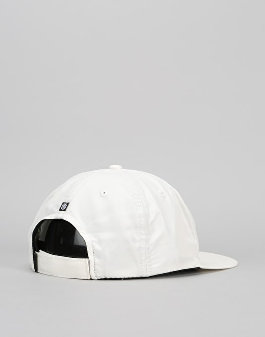 Element Frame Snapback Cap - Off White