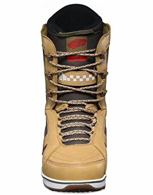 Vans V-66 2017 Snowboard Boots - Tan/Forest Green