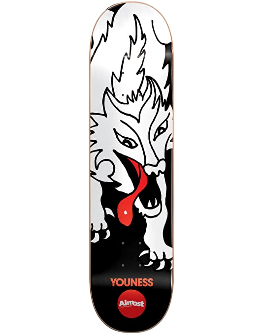 Almost Youness Wolf Bait Pro Deck - 8.125""